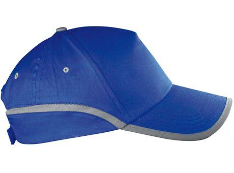 Baseballcap-blau mit Druck versehen