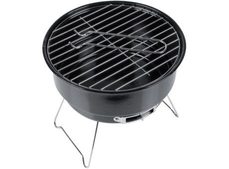 Grills können zum Beispiel: zwei Grillroste und seitliche Belüftungslöcher besitzen