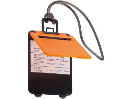 Kofferanhänger mit einem Logo oder Slogan bedrucken lassen